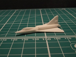 Convair F2Y Sea Dart 6mm 1/285 (Resting on water) in White Natural Versatile Plastic