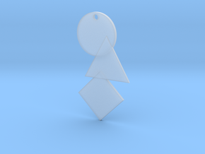 Bauhaus Tp Bennet Pendant in Smooth Fine Detail Plastic