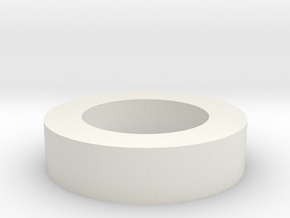 Ring JT in White Natural Versatile Plastic