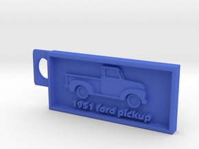 1951 Ford Pickup  in Blue Processed Versatile Plastic