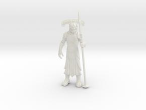 Underworld Guardian in White Natural Versatile Plastic