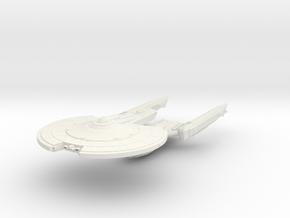 Titan Class GunCruiser in White Natural Versatile Plastic