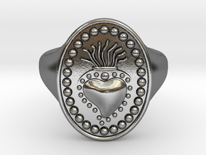 DANTE Ring in Polished Silver
