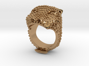 COLOSSEO Ring in Polished Brass