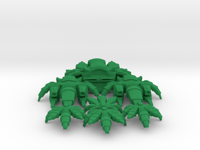 Planta Ship Set (Eclipse) in Green Processed Versatile Plastic
