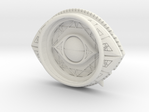 Eye Of Agamotto Base in White Natural Versatile Plastic