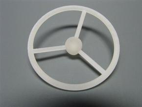 steering wheel large in White Natural Versatile Plastic