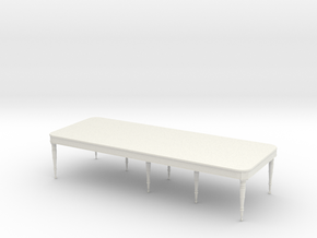 26 TABLE THREE QUARTER INCH in White Natural Versatile Plastic