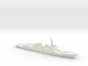 Sejong the Great-class destroyer, 1/2400 in White Strong & Flexible
