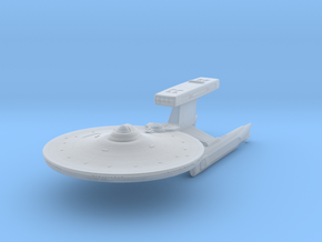 Pratchett Class Destroyer  3.7 in Smooth Fine Detail Plastic