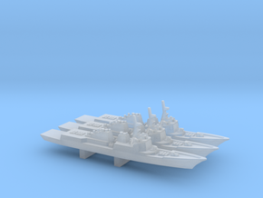 Sejong the Great-class DDG x 3, 1/6000 in Smooth Fine Detail Plastic