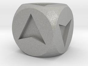 Directional Dice in Aluminum