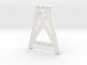 Losi XX and XX-T Front Chassis Stiffener A-4110 in White Processed Versatile Plastic