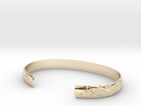 Celtic Wolf Cuff Set in 14K Yellow Gold