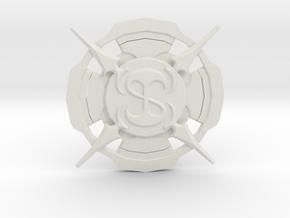 Replica of Guild Seal in White Natural Versatile Plastic