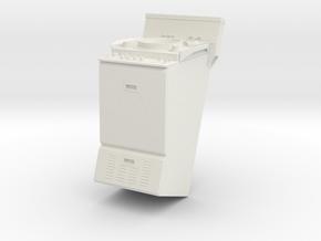 1/18 scale radar repeater in White Natural Versatile Plastic