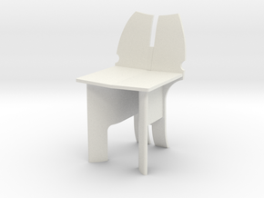 AV Chair in White Natural Versatile Plastic