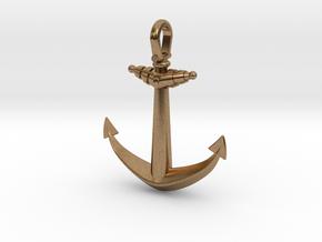 Anchor V2 (Big) in Natural Brass