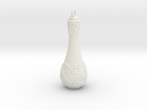 Love Potion - 40mm in White Natural Versatile Plastic