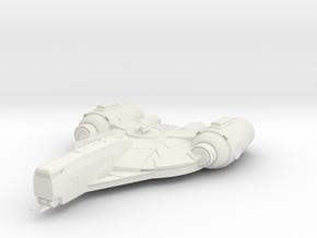 Scout in White Natural Versatile Plastic