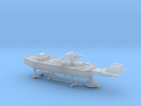 Chile Ohiggins Class Grand Cruiser in Smooth Fine Detail Plastic