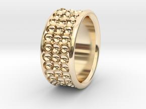 Rln0005 in 14k Gold Plated Brass