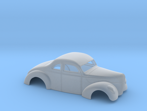 1/64 1940 Ford Coupe 2 Inch Chop in Smoothest Fine Detail Plastic