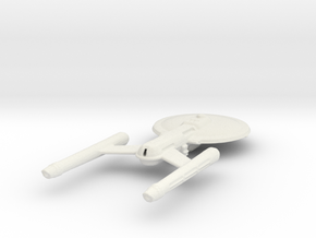 ISS/USS ANDROMEDA in White Natural Versatile Plastic