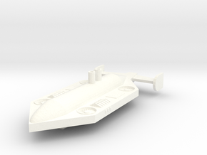 Pioneer Class Freighter in White Processed Versatile Plastic