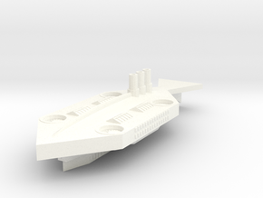 Manhattan Class Liner in White Processed Versatile Plastic