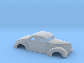 1/43 1940 Ford Coupe 3 In Chop 4  In Section in Smooth Fine Detail Plastic