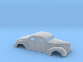 1/43 1940 Ford Coupe 3 In Chop 7  In Section in Frosted Ultra Detail