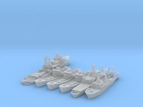 Cod War Set 1 1:700/600 in Smooth Fine Detail Plastic: 1:700
