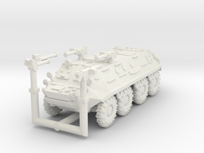 MG144-R13A2 BTR-60PA with MGs in White Natural Versatile Plastic