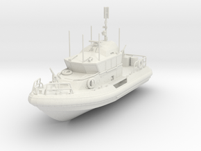 1/96 Response Boat- Medium in White Strong & Flexible
