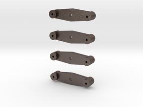 Equalizing Beam Set in Polished Bronzed Silver Steel