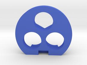 Tri-shot Barrel Spacer in Blue Processed Versatile Plastic