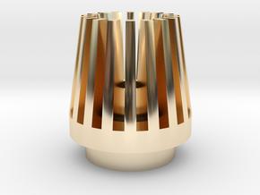 EN2190 -TOP- in 14k Gold Plated Brass