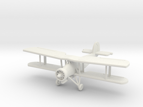 Fairey Swordfish, 1:144 Scale in White Natural Versatile Plastic