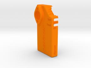 SD2IEC Casing v1.2 in Orange Processed Versatile Plastic