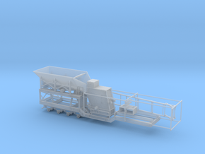 1/87th Large Impact Rock Crusher trailer Part 1  in Smooth Fine Detail Plastic
