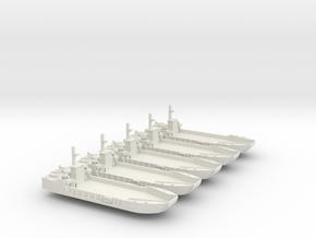 1/600 Scale Vietnam LCU-1466 class in White Natural Versatile Plastic