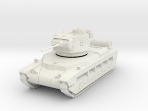 PV115 Matilda II (1/48) in White Natural Versatile Plastic