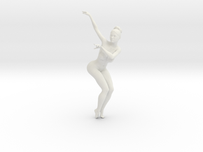 1/18 Nude Dancers 016 in White Strong & Flexible