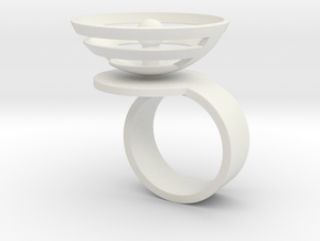 Orbit: US SIZE 7.5 in White Natural Versatile Plastic