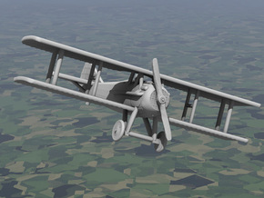 SPAD 13 in White Natural Versatile Plastic: 1:144
