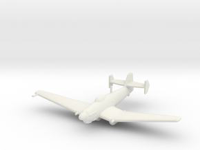 Loire-Nieuport LN.401/411 (with bomb) in White Strong & Flexible: 1:200