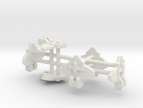 FighterGroup in White Natural Versatile Plastic