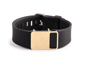 Rasa slide for Fitbit Charge & HR in Natural Brass