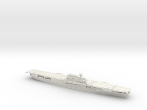 1/1800 US CV5 Yorktown [1942] in White Natural Versatile Plastic